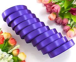 Лента атласная LiaM Фиолетовая 1,2 см ширина 25 ярдов