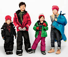 Детские куртки и плащи весна-осень