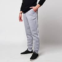Спортивные штаны ТУР Rocky серые с белым (только L), фото 1