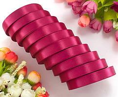 Лента атласная LiaM цвет Вишнёвый 1,2 см ширина 25 ярдов