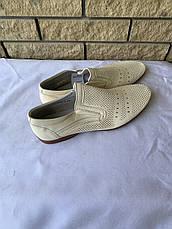 Туфли мужские летние BURHOE, фото 2