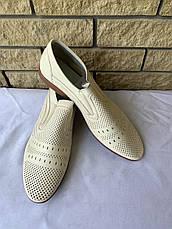 Туфли мужские летние BURHOE, фото 3
