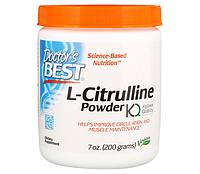 Уценка (Срок годности до 06/20) Doctor's Best L-Citrulline 200g, фото 1