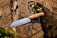 Кухонный нож с буковой рукоятью №16 , 40Х13, 27см