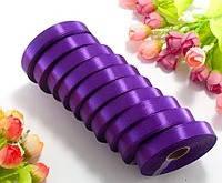 Лента атласная LiaM цвет  фиолетовый 1,2 см ширина 25 ярдов