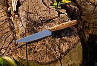Кухонный нож с буковой рукоятью №17 , 40Х13, 27см