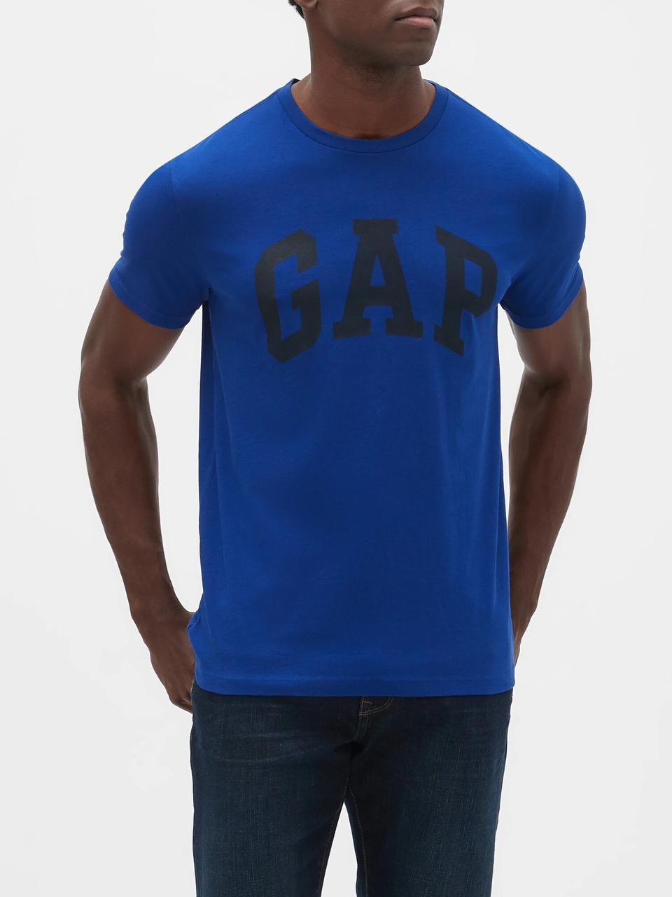 Мужская футболка GAP art336977 (Синий, размер  L)