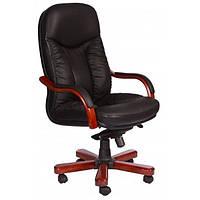 Кресло Буффало кожа черная, бежевая, коричневая