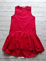 Платье женское красное свободное 46-48р, фото 1