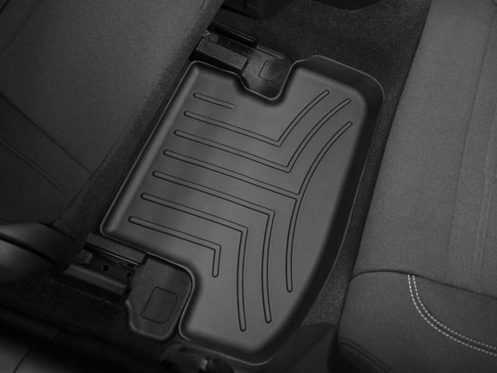 Ковры резиновые WeatherTech Ford Mustang 2015+ задние черные