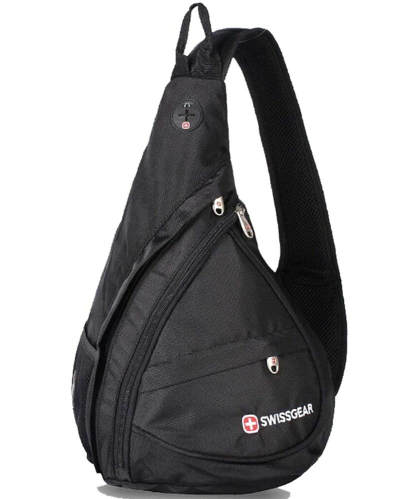 Мужская спортивная сумка Swissgear через плечо, барсетка слинг