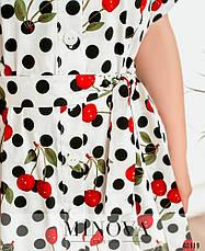 Платье женское летнее большой размер №41760-1-белый| 52-54|56-58|60-62р., фото 3