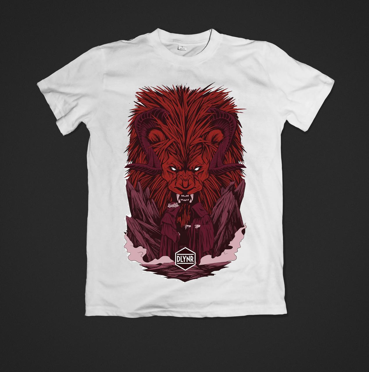 Футболка YOUstyle Bear 0368 XL White