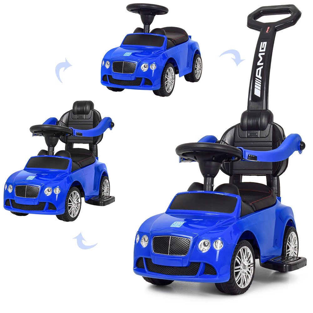 Детская машинка каталка-толокар Bambi M 3901L-4 синий