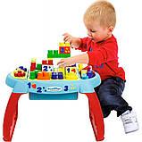 Игровой стол-конструктор Ecoiffier Открытие 32 элемента (7763), фото 3