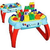 Игровой стол-конструктор Ecoiffier Открытие 32 элемента (7763), фото 2