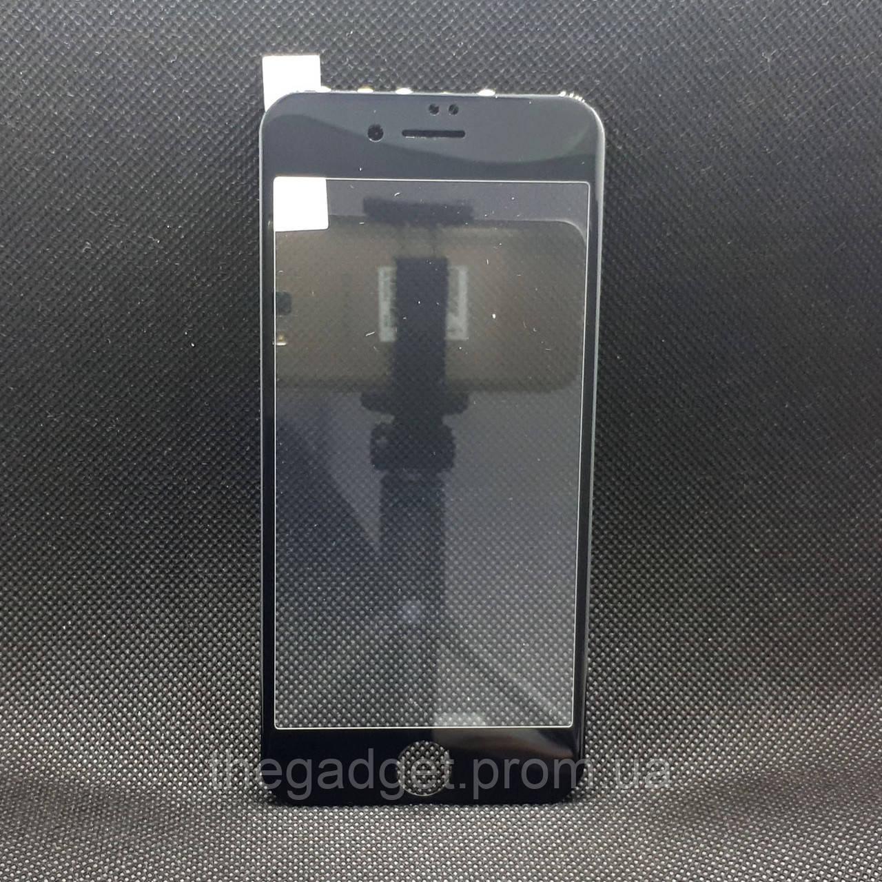 Защитное стекло для Apple iPhone 7/8 Baseus Черное с полной проклейкой