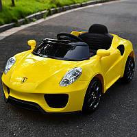 Детский электромобиль Porsche T-7622 Желтый