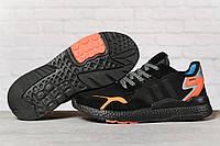 Кроссовки мужские 17292, Adidas 3M, черные, [ 41 42 43 44 45 ] р. 41-25,2см., фото 1