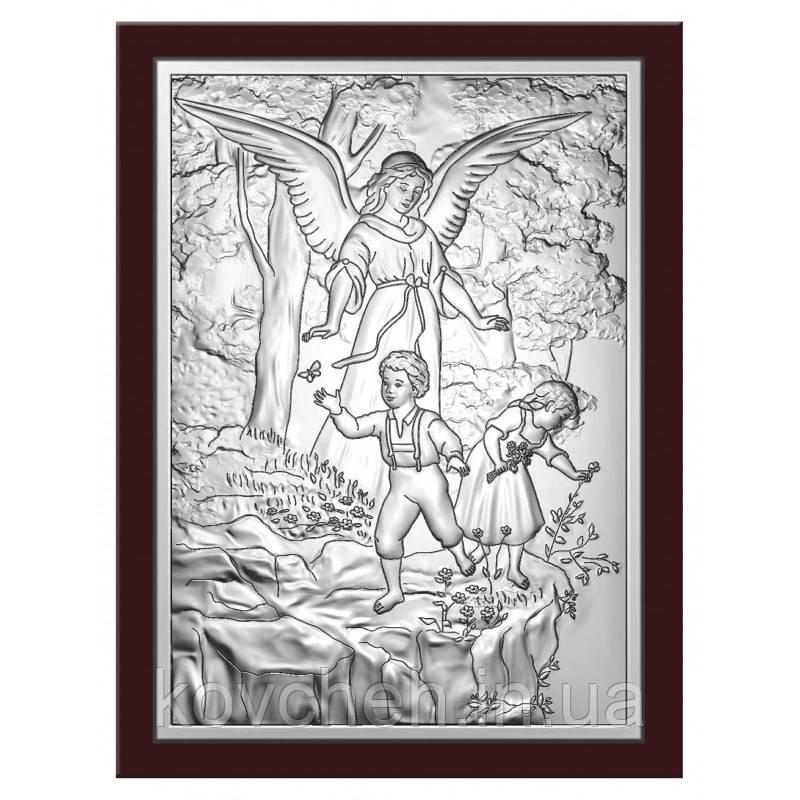 Ікона Ангел-Охоронець Срібна-925