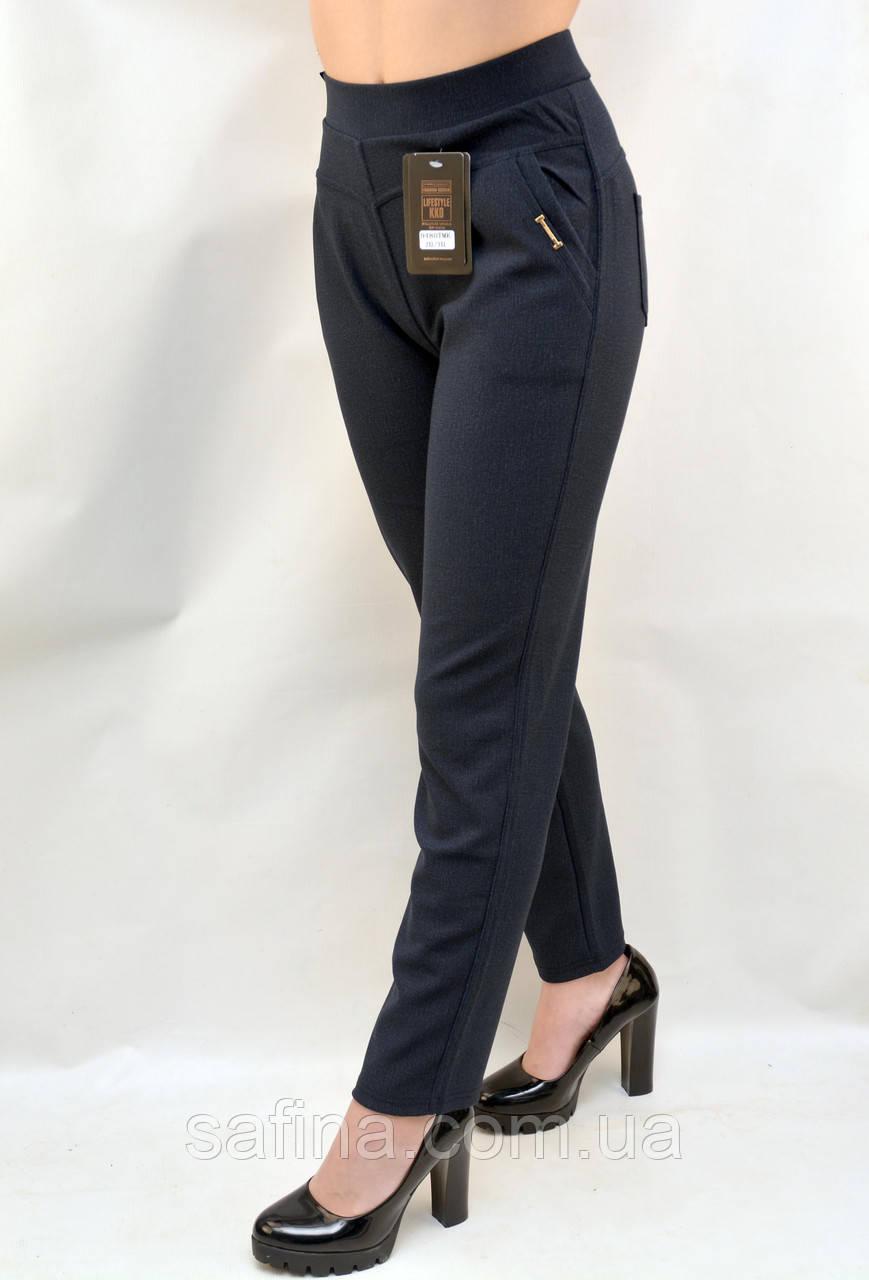 Женские брюки красивого меланжевого цвета