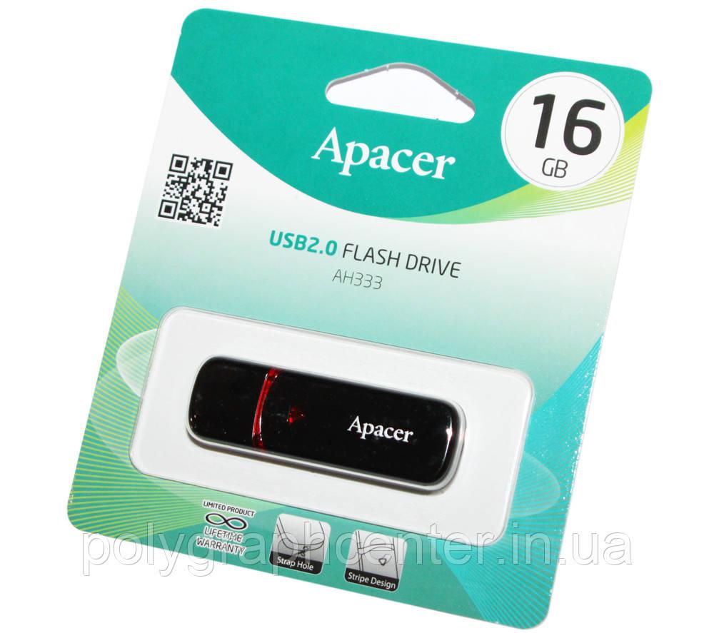 Флешка Apacer 16 GB AH333 USB 2.0