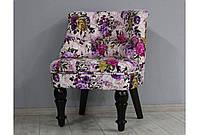 Кресло Sovalle Прованс микрофибра Фиолетовый (0449-15)