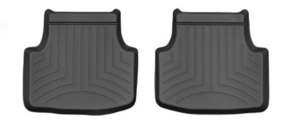 Ковры резиновые WeatherTech  Skoda  Octavia A7 2013-2020 задние черные