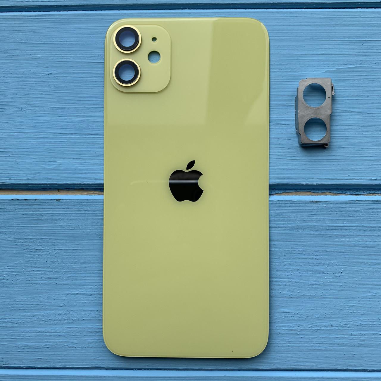 Задняя панель корпуса Apple iPhone 11 Yellow