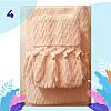 """Рушник махровий для обличчя. Vip Cotton """"SAÇAKLI """"KAPADOKYA"""" :: Sikel. 50*90/ Щільність: 500 г/м2, фото 2"""