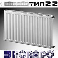 Радиатор стальной KORADO 22 тип 600x700 мм (боковое подключение)