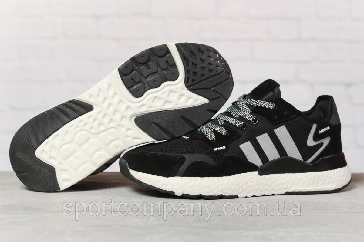 Кроссовки мужские 17291, Adidas 3M, черные, [ 41 46 ] р. 41-25,2см.