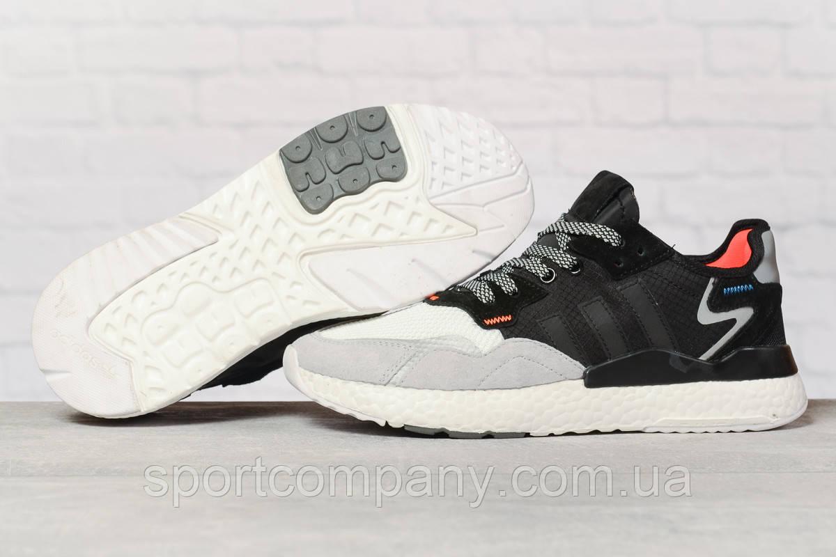 Кроссовки мужские 17296, Adidas 3M, серые, [ 42 43 44 46 ] р. 42-25,8см.