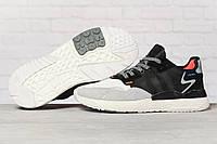 Кроссовки мужские 17296, Adidas 3M, серые, [ 42 43 44 46 ] р. 42-25,8см., фото 1