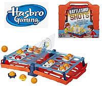 Настольная игра морской бой  Battleship Shots  Hasbro