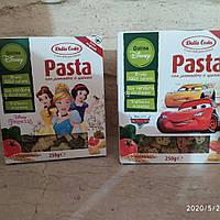 Детские макароны 250 грамм (томат и базилик)