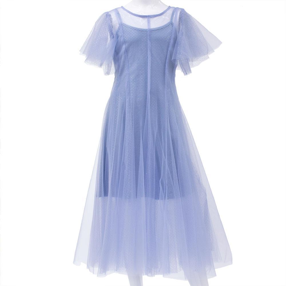 Платье для девочек Mimcar 120  голубое 2001155
