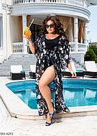 Женское парео,женская пляжная туника, фото 1