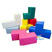 М'який конструктор Кубик Рубіка, 7 ел., фото 3