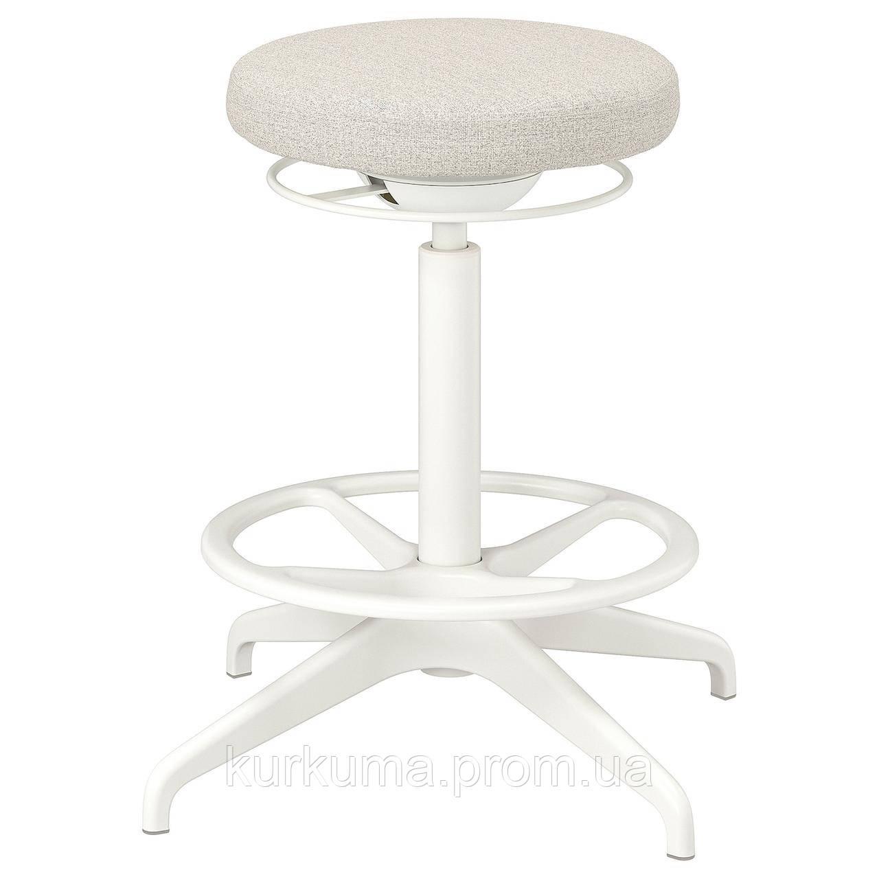 IKEA LIDKULLEN Рабочий стул, Ганнаруд бежевый (004.183.76)