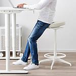 IKEA LIDKULLEN Рабочий стул, Ганнаруд бежевый (004.183.76), фото 4