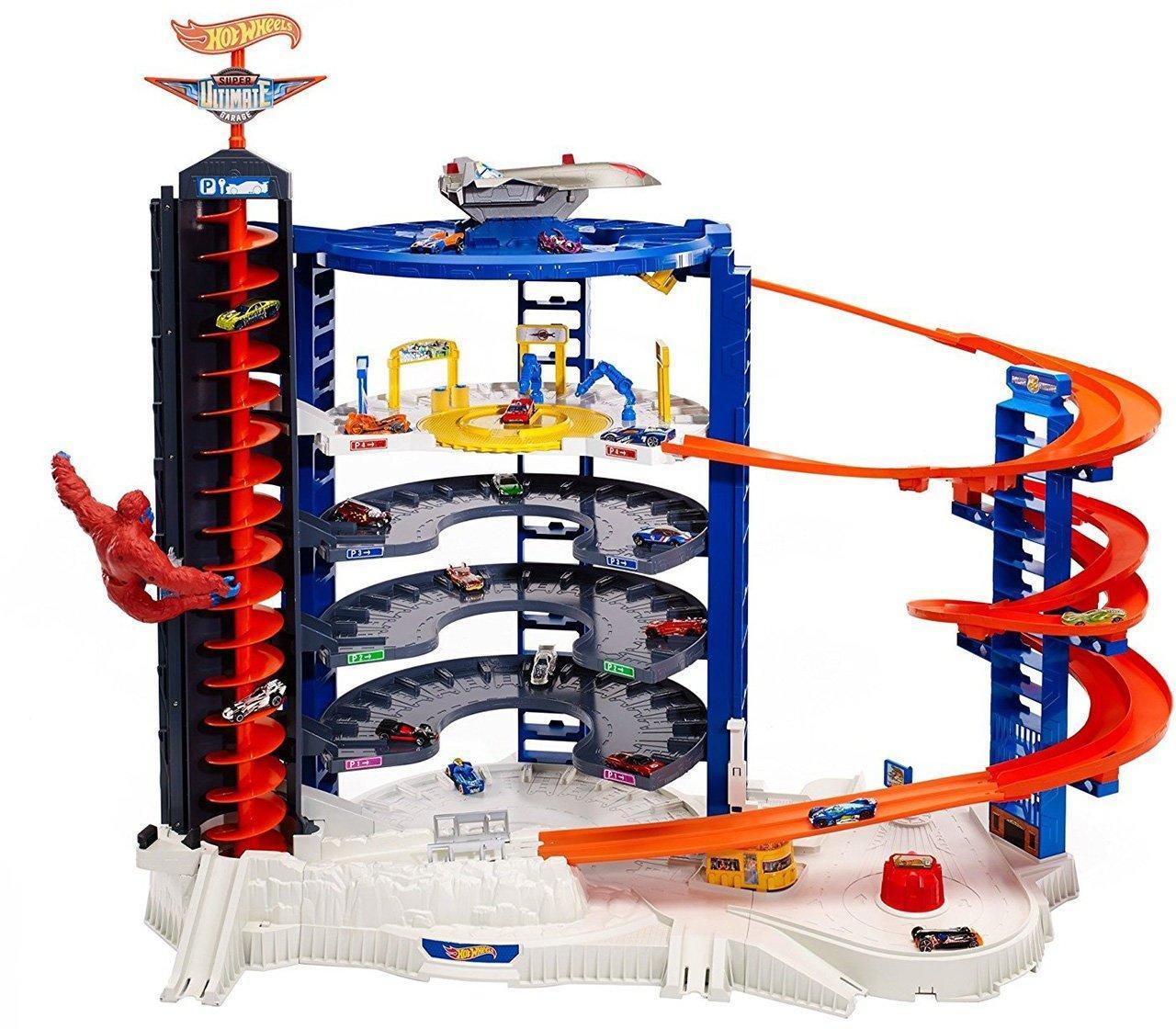 Hot Wheels Super Ultimate Garage Супер гараж гигант ( Хот Вилс гараж с гориллой Парковка Ультиматум )