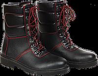 Ботинки рабочие с высокими берцами утепленные REIS BRWINTER BC 47 Черный, КОД: 385394