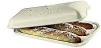 Форма для выпечки багета Emile Henry с крышкой 39х24 см 505506, КОД: 1705214