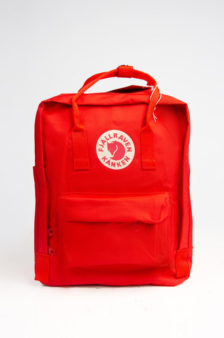Городской рюкзак Fjallraven Kanken Classic 16 л Красный ( тканевая подкладка)
