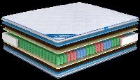Ортопедический матрас Ultima Sleep Impress Max 9 Zone 160x190 см 100150, КОД: 1582825