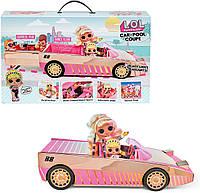 Оригинал! Кабриолет Автомобиль куклы ЛОЛ кабриолет с бассейном серии Lights Машинка L.O.L. Surprise! 565222, фото 1