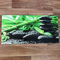 Дизайнерская плитка для ванной - Бамбук на камне - 30х60