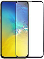 Защитное стекло TOTO 5D Cold Carving Tempered Glass Samsung Galaxy S10e Black 101439, КОД: 1605487