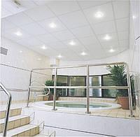 Гипсовая потолочная плита Knauf Danoline Tiles 600 White